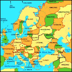 Karta 2019 Karta Na Evropa 2012